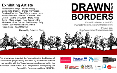 Launching Drawn From Borders at the VSG