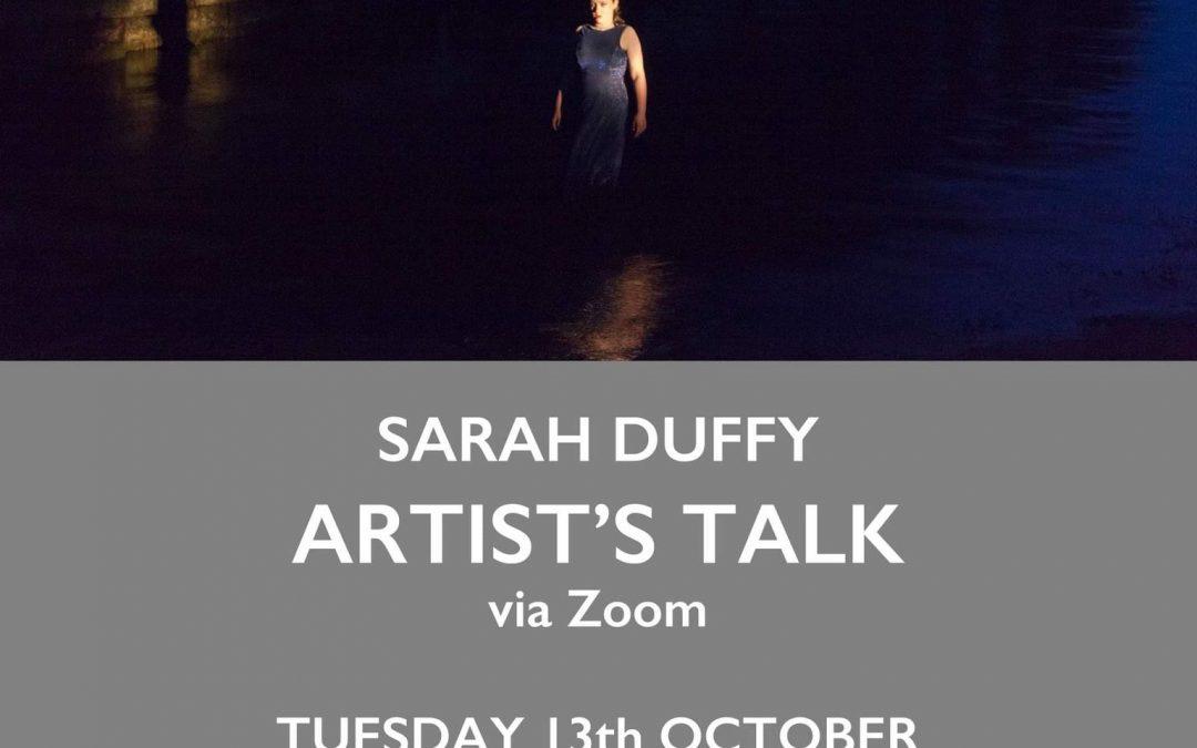 Sarah Duffy Artist Talk