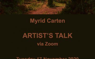Myrid Carten Artist Talk