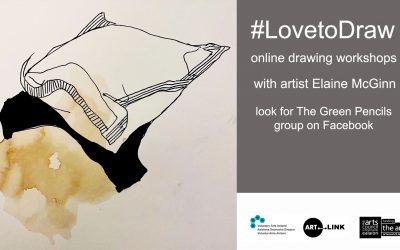 #LovetoDraw Drawing Workshops