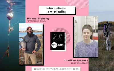 Cliodhna Timoney and Michael Flaherty Artist Talk